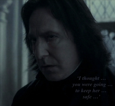 Severus Snape wallpaper called Crying Snape with Quote