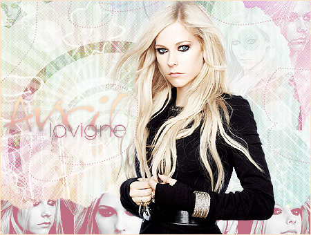 Cute Avril người hâm mộ art!