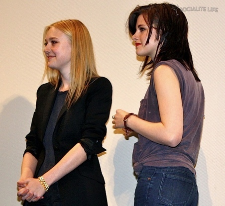 "Dakota & Kristen at The Press Conference for ""The Runaways"" at SXSW Festival"