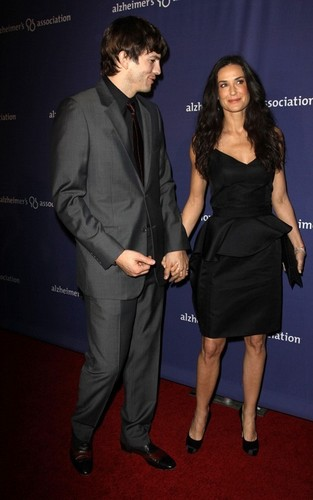 Demi Moore and Ashton Kutcher at the 18th Annual 'A Night at Sardi's' (March 18)