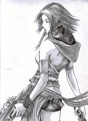 Ffx 2 Final Fantasy X 2 Fan Art 10926040 Fanpop