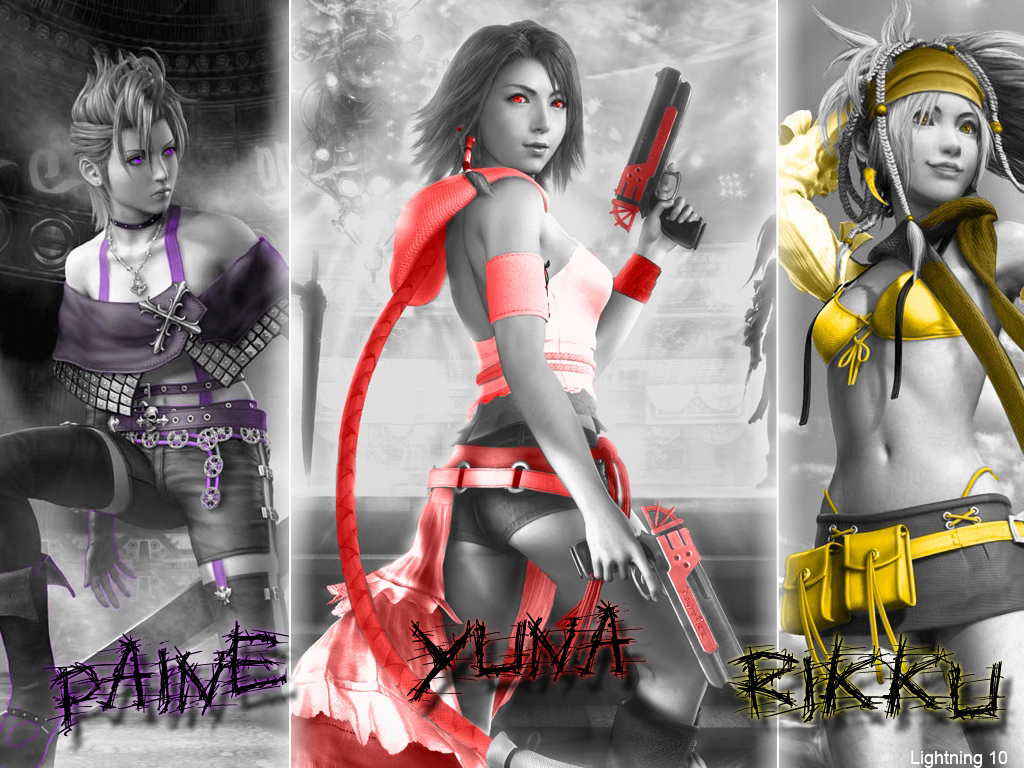 final fantasy x-2 images final fantasy x-2 hd wallpaper and