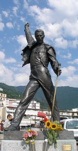 Freddy Mercury Statue Montreux (Switzerland)