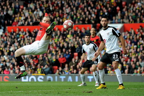 Manchester United 壁紙 called Fulham FC - March 14, 2010
