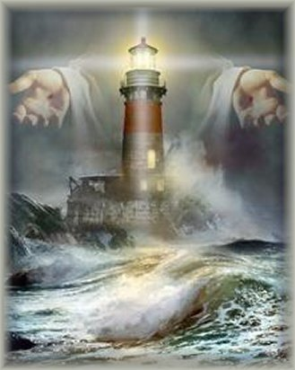 God-The creator fondo de pantalla called God's Lighthouse