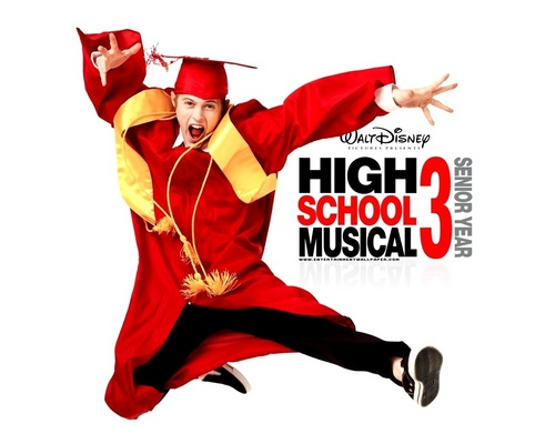 High School Musical 3 바탕화면 titled HSm 3