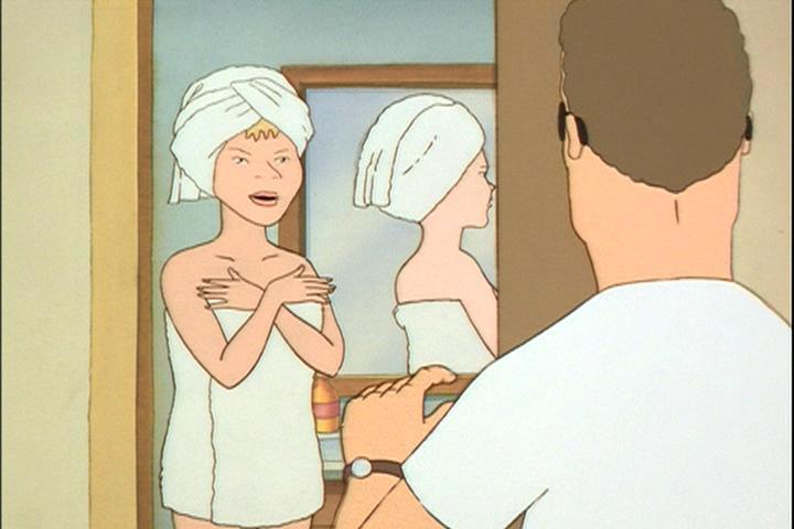 King Of The Hill Hank Finds Luanne