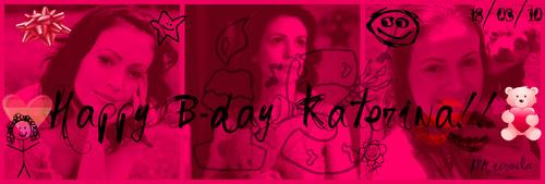 Happy birthday Kat!!