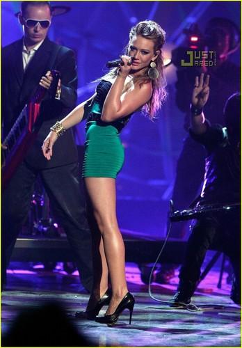 Hilary at VMAs Latinoamerica 2007