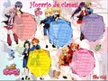 Horario de clases.....shugo chara
