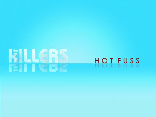 Hot Fuss kertas dinding