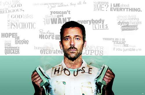 House M.D. wallpaper titled House quotes