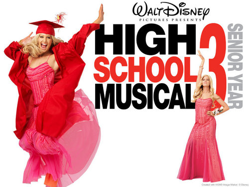 High School Musical 3 kertas dinding called HsM 3