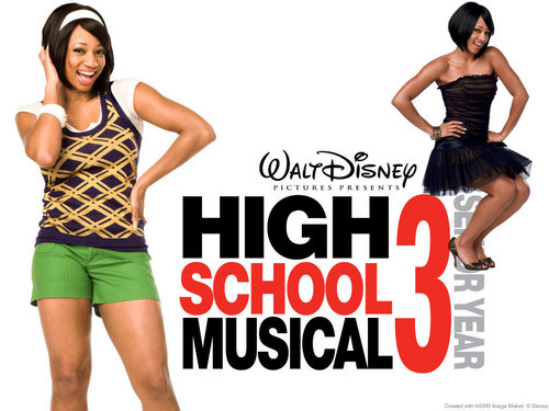 High School Musical 3 karatasi la kupamba ukuta called HsM 3