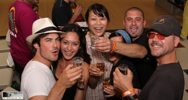 Ian Somerhalder - Bowling Tournament of Destiny