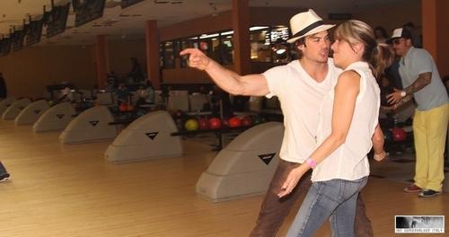 Ian Somerhalder - Bowling Tournament of Destiny