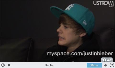 justin bieber live. J.Bieber live at chat