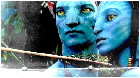 Avatar wallpaper titled Jake & Neytiri Banner