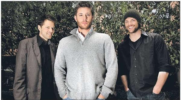 Supernatural Cast Images Jared Jensen Misha Wallpaper And Background Photos