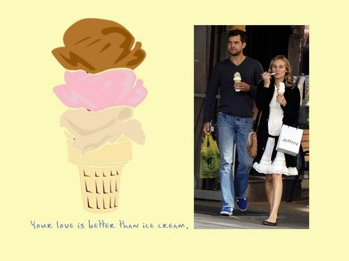 Celebrity Couples Обои titled Joshua Jackson and Diane Kruger