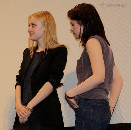 "Kristen & Dakota at The Press Conference for ""The Runaways"" at SXSW Festival"