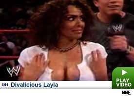WWE LAYLA پیپر وال titled Layla