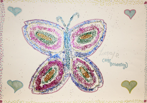 Lorna Fitzgerald wallpaper entitled Lorna's Charity Butterfly