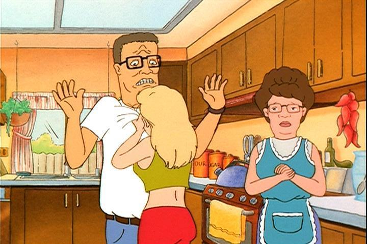 King Of The Hill Luanne Cries On Hank