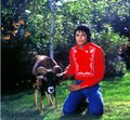 MJ And His Ram - michael-jackson photo