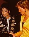 MJ and princess Diana - michael-jackson photo