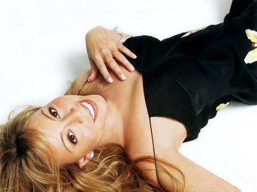 Mariah Black Dress Photoshoot Rare!