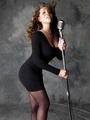 Mariah Memoirs Photoshoot With Microphone!