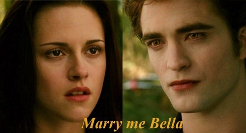 Marry me Bella