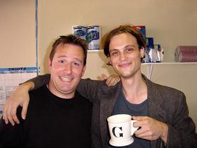 Matthew with his 'G' mug!