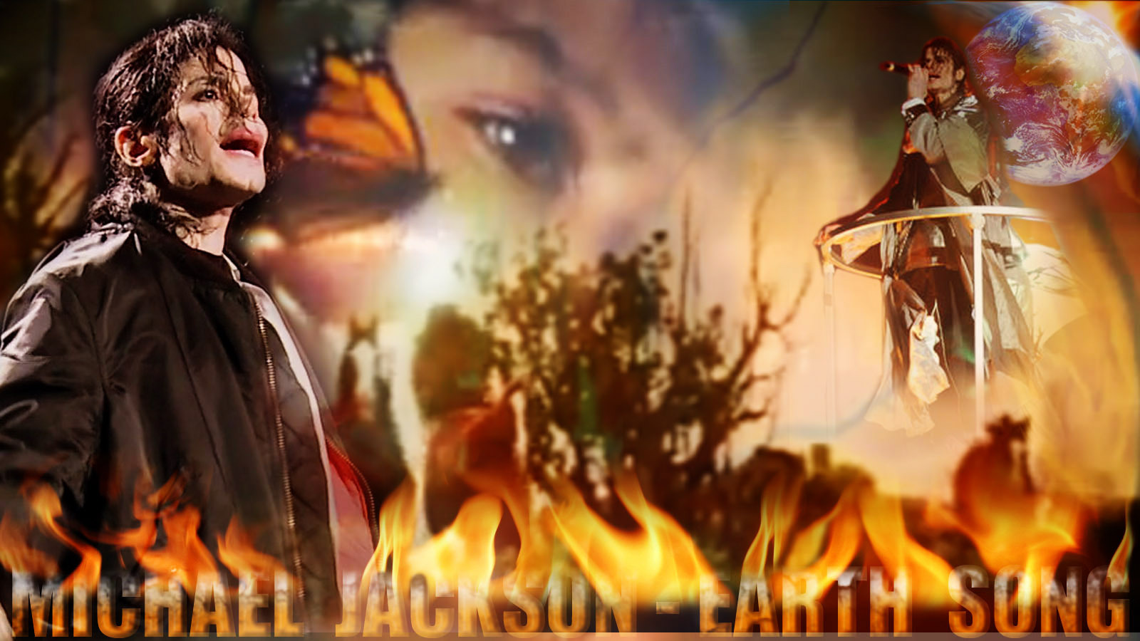 Michael Jackson Earth Song - michael-jackson  wallpaper