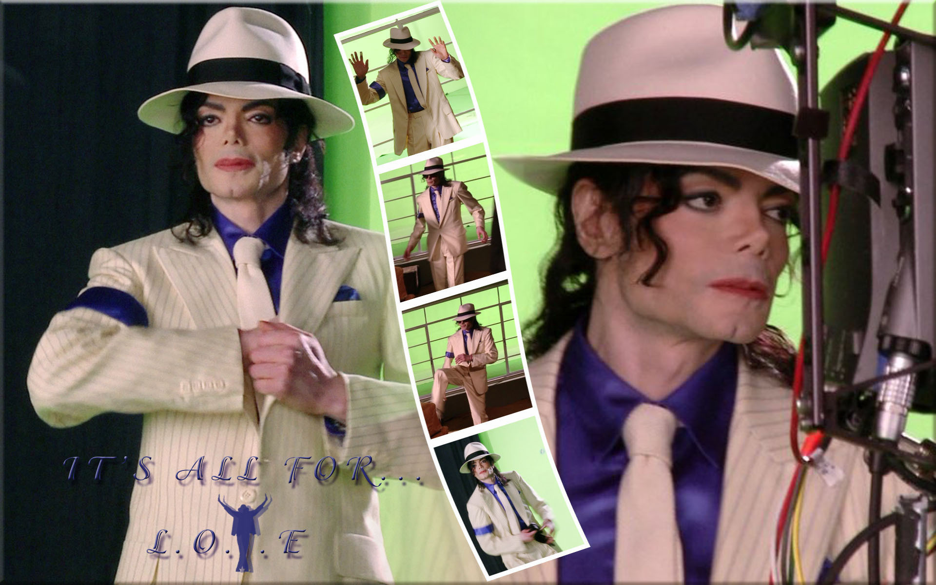 Michael Jackson Smooth Criminal - michael-jackson  wallpaper