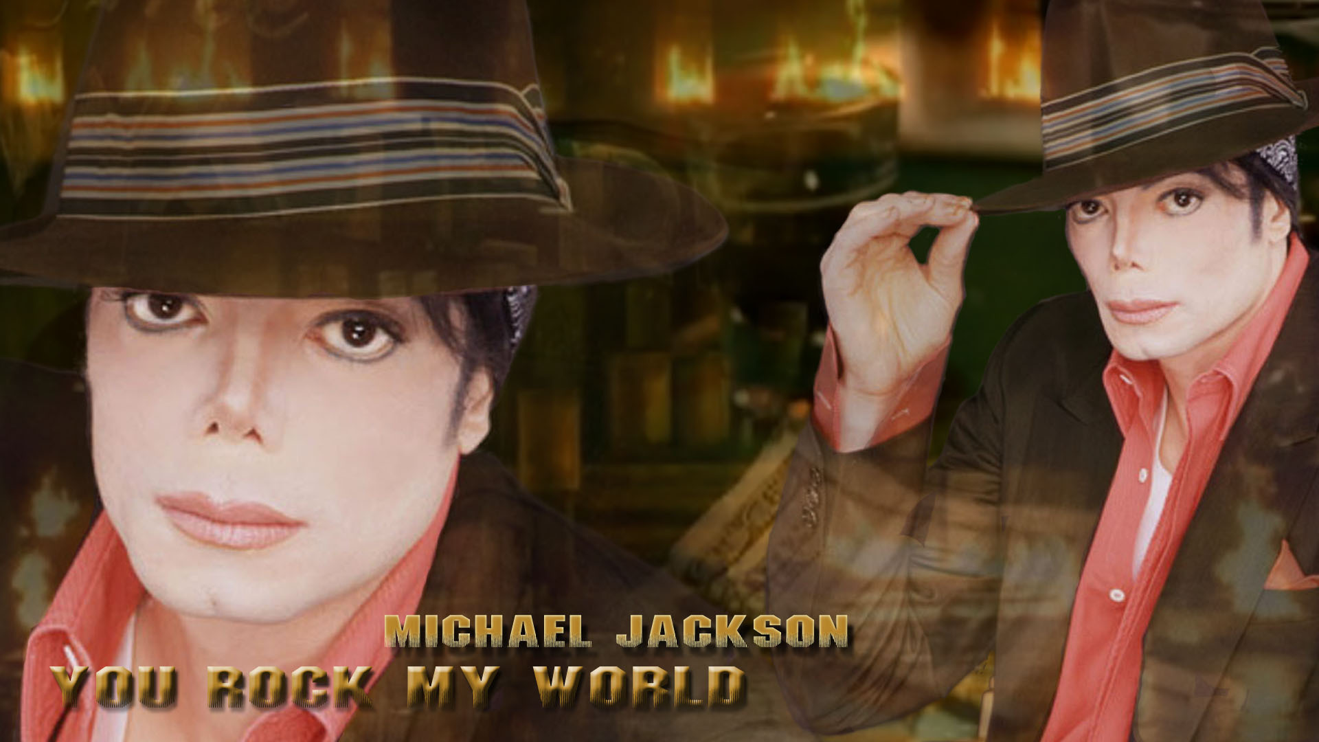 Michael Jackson You Rock My World - michael-jackson  wallpaper