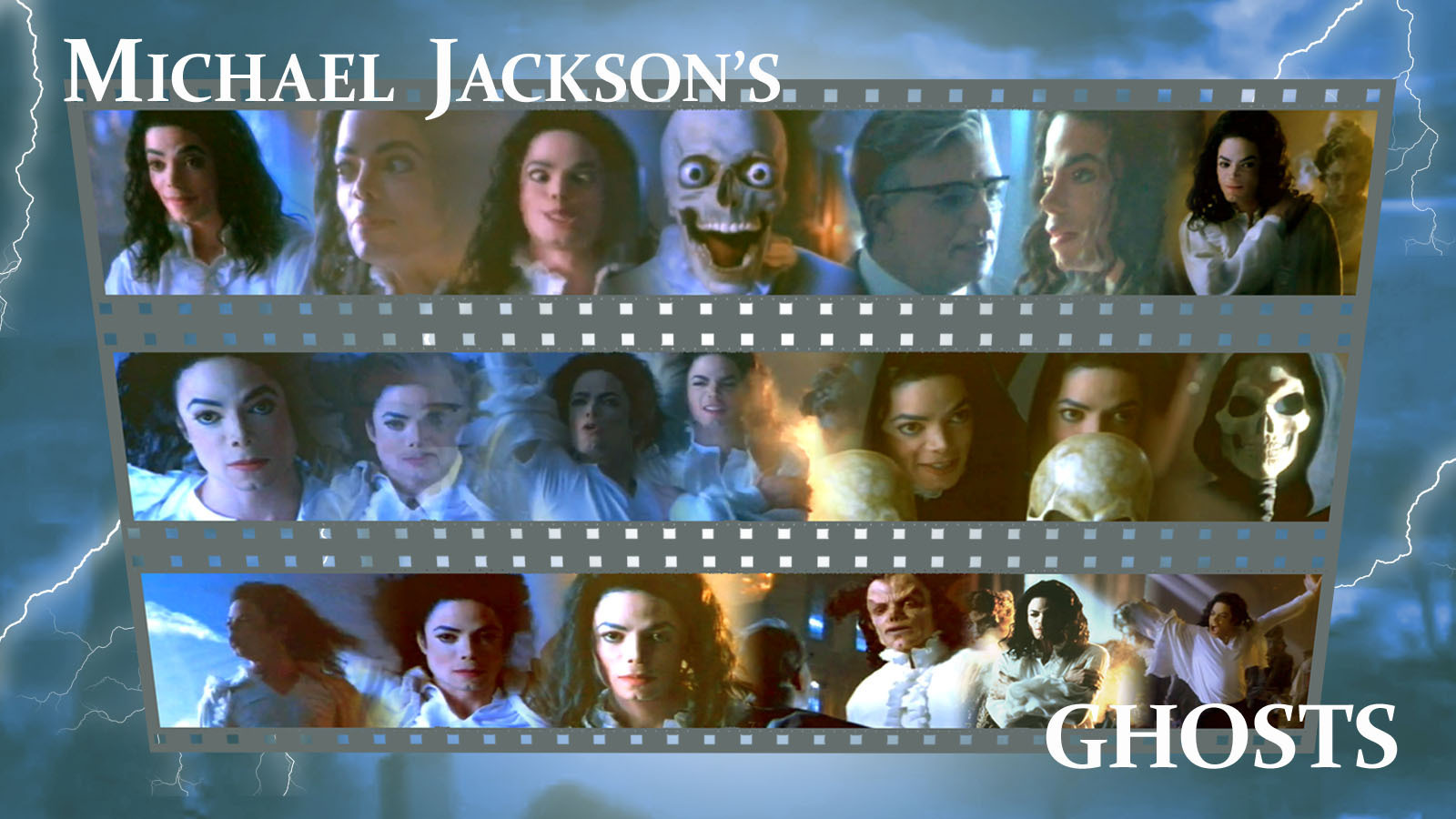 Michael Jackson's Ghosts - michael-jackson  wallpaper