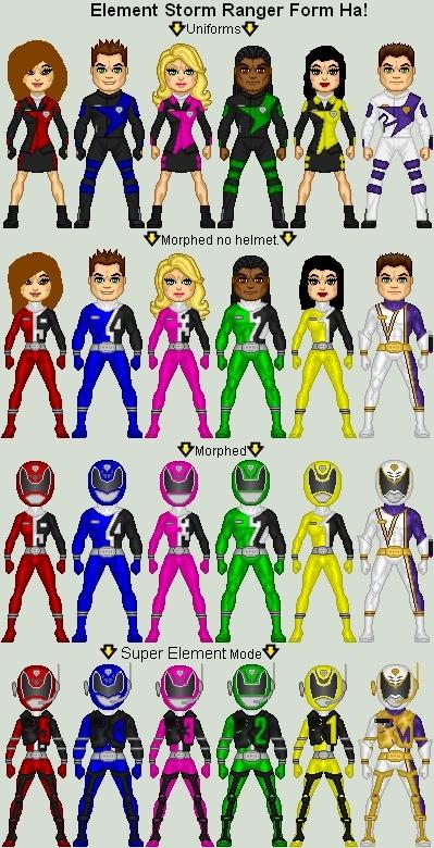 New Ranger Team!