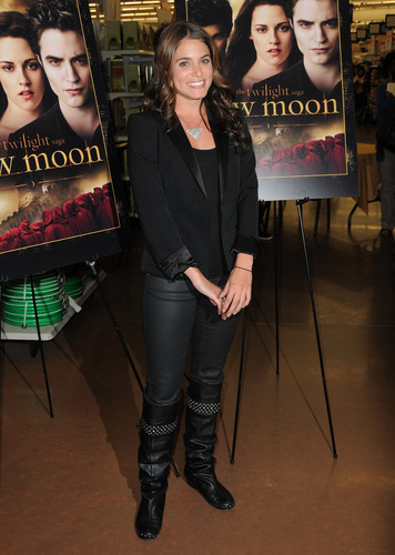 Nikki @New Moon DVD Midnight Release Party
