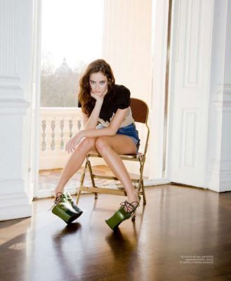 No magazine kaya Scodelario March 2010