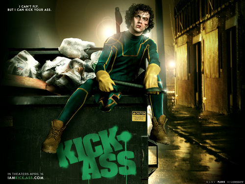 Official Kick-Ass پیپر وال