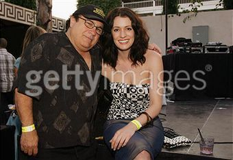 Paget and Danny DeVito, 2006