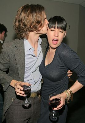 Paget and Matthew Gray Gubler 2008
