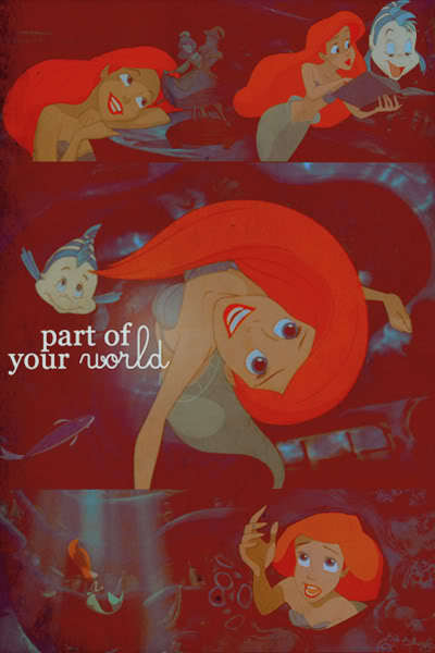 Part of your World - Picspam