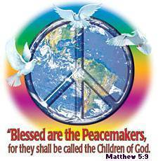 Peace to God's world \/,,