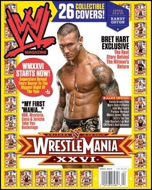 Randy Orton on WWE Magazine