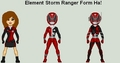 Red Element Ranger