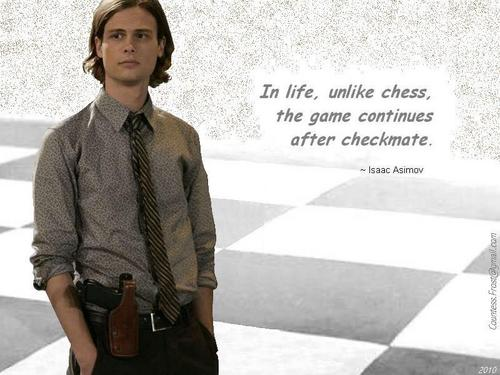 Criminal Minds wallpaper titled Reid quotes Asimov