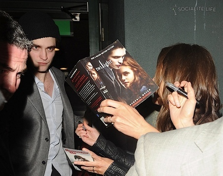 """Robert Pattinson at the """"Remember Me"""" After Party"""